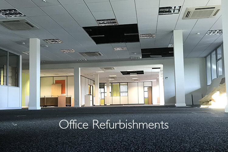 Refurbished office